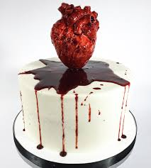 Heart Wedding Cake The Spookiest Gothic Wedding Cakes Hitched Co Uk