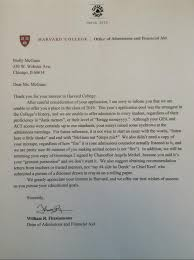 francis parker senior u0027s fake harvard rejection letter goes viral