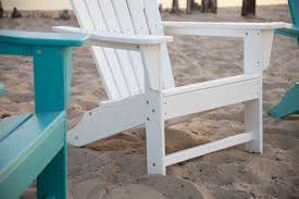 south ultimate recycled plastic adirondack chair polywood