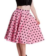 hell bunny 50s rockabilly adelaide skirt pin up polka dot pink