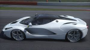 ferrari diamond laferrari diamond white metallic now with matching white leather