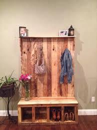 10 reclaimed wood pallet coat rack 99 pallets