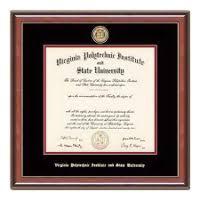 virginia tech diploma frame bookstore diploma frames