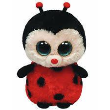 ty beanie boos 10in bugsy ladybug ebay