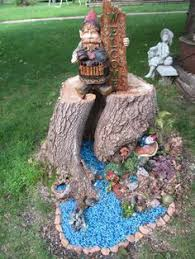 Pictures Of Tree Stump Decorating Ideas How To Create A Tree Stump Planter Tree Stump Fairy Doors And