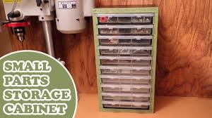 Home Made Cabinet - workshop organization homemade small parts storage youtube