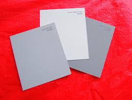 shades of gray no not 50 shades not just paper and paint