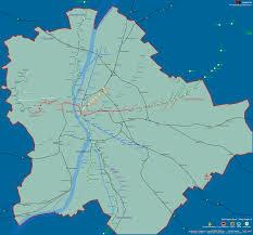Map Of Budapest Urbanrail Net U003e Europe U003e Hungary U003e Budapest Metro Subway