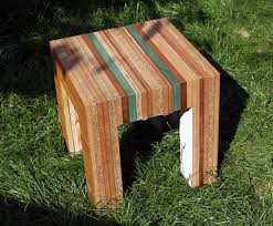 tristan titeux u0027 colorful re cut furniture is made from recycled