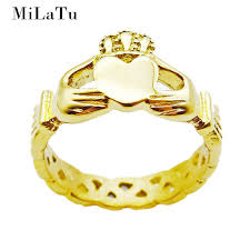 claddagh rings milatu claddagh rings women heart crown ring