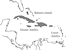 13 Original Colonies Map Blank by The West Indies As A Laboratory Of Biogeography And Evolution