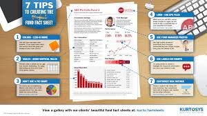 What Is A Spreadsheet Software 7 Tips To Creating The Perfect Fund Fact Sheet Infographic