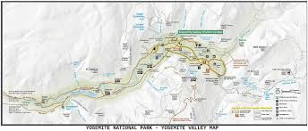 Yosemite Park Map Cfn California Fire News Cal Fire News Ca Ynp Yosemite