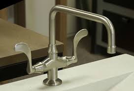 wingnut square spout faucet artisan crafted home
