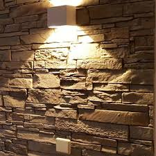wandgestaltung paneele 35 besten steinoptik verblender bilder auf verblender