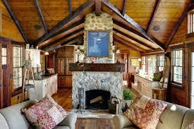 the essentials for a romantic log cabin retreat