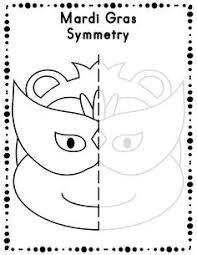 president u0027s day symmetry activity worksheets k math ideas