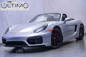 porsche boxster rear pre owned 2015 porsche boxster gts convertible in warrenville