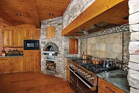 hybrid kitchens eagle river wisconsin hybrid log home by precisioncraft