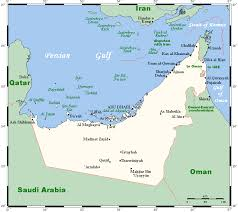 map of oman and uae geography of the united arab emirates