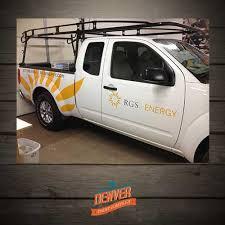 solar company vinyl graphics denver printing company