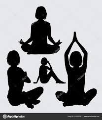 si e relax meditazione relax sagoma dello ione atto femminile buon uso simbolo