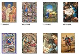 20 boxed cards religious themes