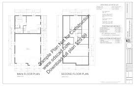 House Plans With Lofts Garage Plans With Loft Sds Plans