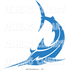 royalty free blue marlin stock fishing designs