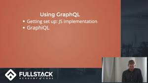 graphql tutorial examples of how to use graphql youtube