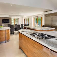 Family Kitchen Design Ideas - Large family room design