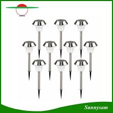 solar led stake lights china stainless steel outdoor solar led stake light solar lawn light