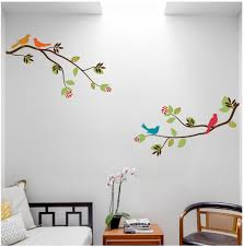 wall decals digiflare graphics branches with birds wall decal