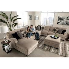 Living Room Design With Sectional Sofa Signature Design By Ashley Katisha Platinum 5 Piece Sectional