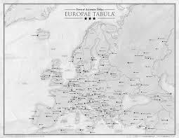 Modern Europe Map by Nova Et Accurata Totius Europae Tabula A Map Of Modern Europe In