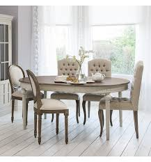 round kitchen table seats 6 maison french cool grey round extending dining table seats up to 6