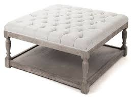 Grey Tufted Ottoman Furniture Tufted Ottoman Coffee Table Elegant French Country