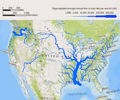 Usa River Map by Statpics Rivers Of Dimension
