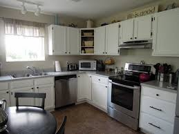antique white kitchen ideas kitchen best l shape antique white oak wood kitchen cabinets small