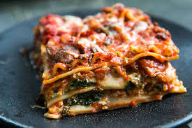 cuisine lasagne vegetarian lasagna recipe spinach and lasagna