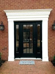Exterior Door Frames Home Depot Door Casing Kits Farmhouse With Frieze Exterior Door Trim Kits