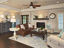 Beach Themed Living Rooms by Living Room Living Room With Brick Fireplace Decorating Ideas