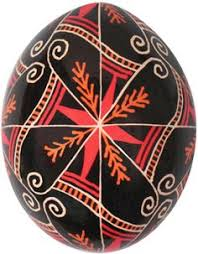 ukrainian easter eggs supplies pysanka black and white egg feathered pinwheel this is more