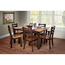 trailway exeter 7 pc dining room set stewart roth furniture