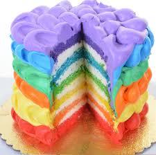 contemporary decoration rainbow birthday cake wondrous design best