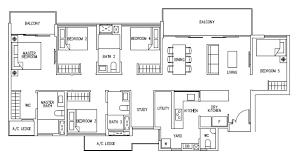Bedroom Floor Plan Ecopolitan Floor Plans Ecopolitan Ec Punggol Way Walk Ec By