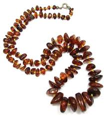 antique necklace vintage images Vintage graduated genuine amber bead necklace jpg