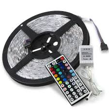 16 4ft rgb multi color led strip lights w remote 5050smd