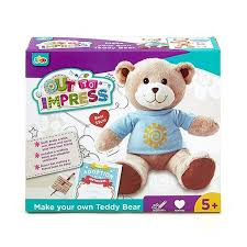 make your own teddy out to impress make your own teddy soft 41066 kidstuff