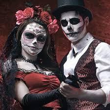 Dia De Los Muertos Costumes Scary Couples Halloween Costumes For Unique Parties